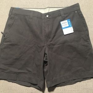 Columbia Mens Chino Shorts Size 36 Inseam 8 NEW